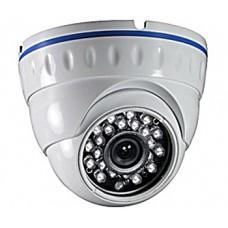 Антивандальная купольная видеокамера 700 ТВЛ с ИК подсветкой LVIR-7070/012