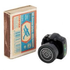 Самая маленькая видеокамера в Мире Ambertek RS101 - миниатюрная шпионская камера - микро фотоаппарат